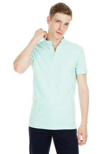 Manche Tişört Yeşil